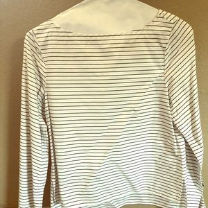 GAP Boatneck Stripe Shirt with ties